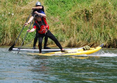 2015 ASVZ Fluss SUP Training